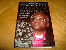 DESMOND TUTU-RAINBOW PEOPLE OF GOD-SIGNED-1994-1ST-VG-DOUBLEDAY-HB