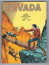 "BD ""NEVADA no 386"" (1979) PETIT FORMAT LUG"
