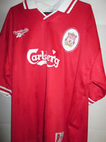 """Liverpool 1996-1997 Home Football Shirt Size extra large mans 46""""-48"""" /13284"""
