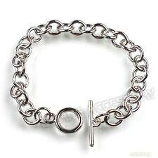 6x 220106 Wholesale New Bracelet Fit Clip Charm Twist Strong Link Chain