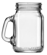 Libbey Set of 12 Small Mason Drinking Jars Mason Handles Mugs Jars