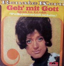"""7"""" 1971 COVERVERSION MINT- ! RENATE KERN : Geh mit Gott"""