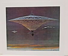 "Ralph McQuarrie Battlestar Galactica Art Print #5- Cylon Warship 11""x13"""
