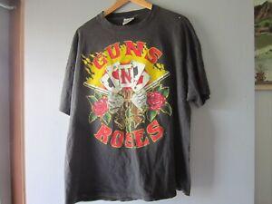 vintage guns n roses shirt XL 1991 Tour Shirt brockum