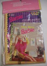 BARBIE BOOKS SET Including Hardcover Golden Book PLUS Earrings SEALED New 1998