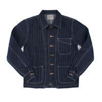 OKONKWO US Vintage Cowboy Jacket AMEKAJI Motorcycle Work Jacket Stripe Coat RRL