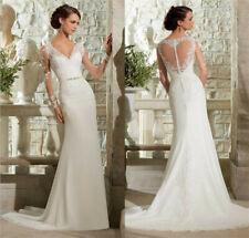 Mermaid Spitze Brautkleid Hochzeitskleid Kleid Braut Babycat collection BC703