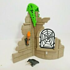 Playmobil Knight Scenery - Crow - Ruins -  Torch - Knights Add on