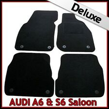 Audi A6 Saloon C5 1997-2005 Tailored LUXURY 1300g Carpet Car Floor Mats BLACK