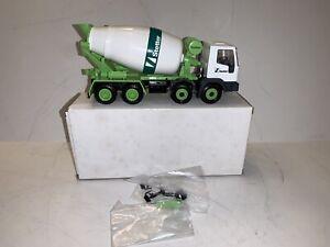 NZG CONRAD IVECO CEMENT MIXER TRUCK GREEN WHITE BOXED