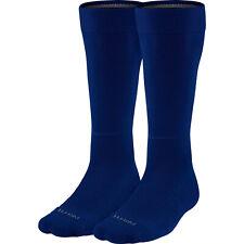 NIKE Vapor OTC 2-Pack Baseball Socks sz M Medium (6-8) Navy Blue Over The Calf