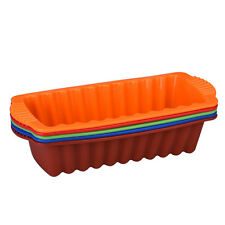 Big Silicone Rectangle Non Stick Bread Loaf Cake Mold Baking Pan Oven Mould