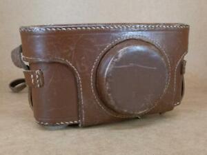 Leitz Leica Fit Case 1/4'' Thread IIIc / IIIf Bodies - Made in England