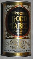 Wisconsin Gold Label Light Lager S.S. Beer Can-Monroe,Wisconsin Opened