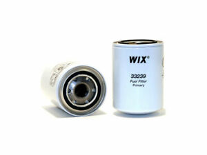 For 1985-1986 Hino FG19 Fuel Filter WIX 82195HF 6.5L 6 Cyl Turbocharged DIESEL