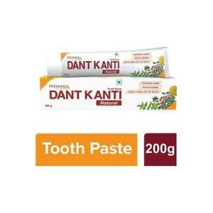 Patanjali Dant Kanti Herbal Toothpaste 4 x 200g Family Size