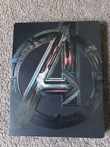 Avengers Age Of Ultron - Blu Ray Steelbook - VGC