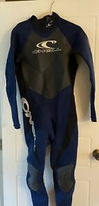 O'Neill Epic Full Wetsuit Mens Size XL Back Zip ONeill Blue style 4031
