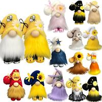 2pc Bumble Bee Gnome Plush Toy Doll Gonk Dwarf Decoration Ornament Gift Bee Elfs
