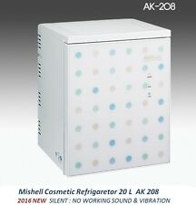 NEW Mishell Cosmetic Refrigerator 20 L AK 208 Silent Design & Smart Temp Control
