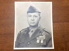 1948 Photo Signed Autograph USMC Colonel Orin Wheeler 25th Marines Mare Island