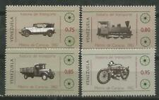 Venezuela Scott #1289-1292 MNH History of Transport 1982
