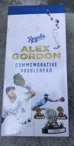 Alex Gordon Kansas City Royals Gold Glove Bobblehead 7/24/21 SGA NIB FREE SHIPPI