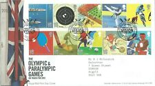 GB FDC London Olympics July 2010 - Rowlington Warwick Postmark