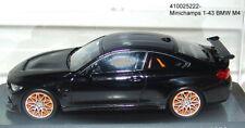 Minichamps 410025222 - BMW M4 GTS 2016 Negro Metálico - 1:43