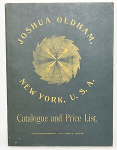 EAIA 1976 Reprint of 1887 Joshua Oldham Saw Blade Catalog (INV H541)