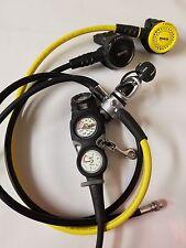 MARES Regulator Scuba Dive Diving MR12 ROVER OCTOPUS PG Max Depth Gauge Compass*