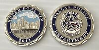 SUPER BOWL XLV 45 DALLAS PD POLICE CHALLENGE COIN GREEN BAY PACKERS STEELERS NFL