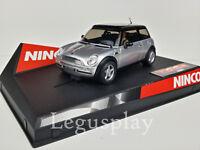 """SCX Scalextric Slot Ninco 50278 Mini Cooper """"Silver"""""""