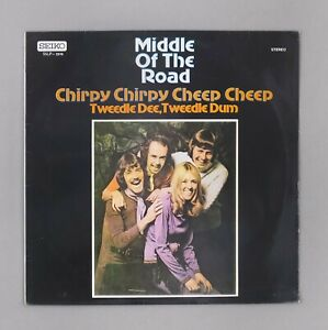 """Middle of The Road - Chirpy Chirpy Cheep Cheep - Japanese ? 12"""" Vinyl -SSLP 3319"""