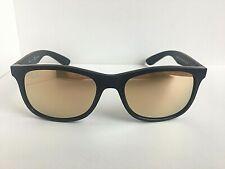 New Ray-Ban Kids RJ 48mm Black Bronze Mirrored Sunglasses No case