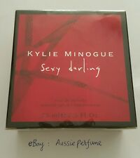 Kylie Minogue Sexy Darling 75ml/ 2.5oz EDT Spray Perfume Sealed Box Discontinued