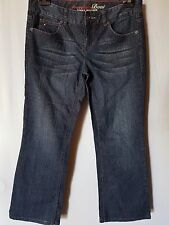 "WOMEN'S JEANS TOMMY HILFIGER BOOTCUT STRETCH SIZE 12/30"" LEG 26.5"" FREE POSTAGE"