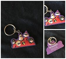 Disney Pixar The Incredibles Family 3D Silcone Key Chain Ring Collectible
