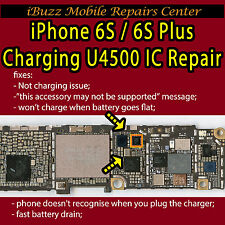 iPhone 6S 6S Plus U4500 U2 IC USB Not Charging IC Draining REPAIR SERVICE 1610A3
