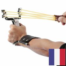 Puissant Lance-Pierres Poignet Assistant Bandes en Caoutchouc Fronde Boussole