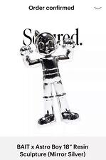 Bait x Astro Boy 18� Resin Sculpture (Mirror Silver) 1/200 *In-Hand*