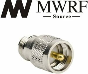 UHF PL259 Male Plug to N Female RF Connector Adapter; Fast Shipping; US Seller