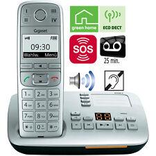 Siemens Gigaset E500A Senioren Telefon DECT ECO strahlungsarm Anrufbeantworter