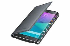 Original Samsung Galaxy Note Edge Charcoal Black Wallet Flip Cover Case