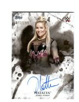 WWE Natalya 2018 Topps Undisputed On Card Autograph SN 71 of 199