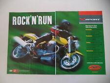 advertising Pubblicità 1999 MOTO GUZZI V11 V 11 SPORT