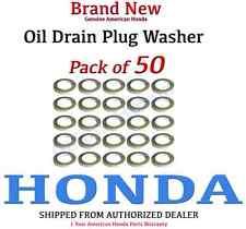 Genuine OEM Honda Oil Drain Plug washer (94109-14000 x 50)