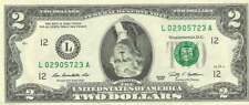 Jefferson UPSIDE DOWN $2 Dollar Bill - REAL Money! - Fun Conversation Piece