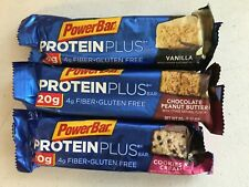 133 Power BarProtein Plus Bars 3 Flavors nutrition energy