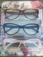 Betsey Johnson +2.00 Reading Glasses NIB Authentic Soft Cat-EyEs Great COLORS!!!
